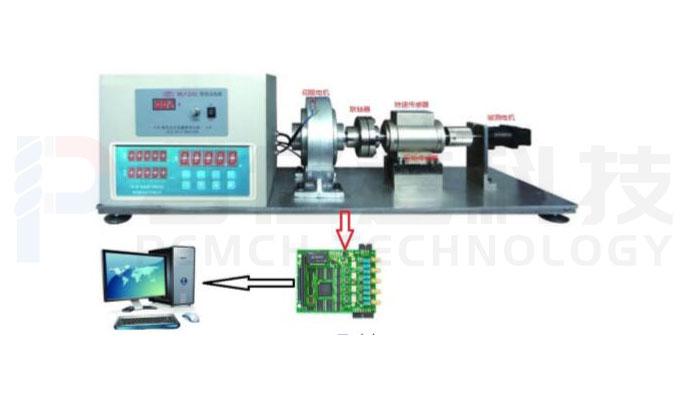 无刷电机角度标定以及Cogging测试系统产品图